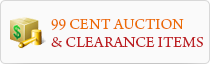99 Cent Auction & Clearance Items
